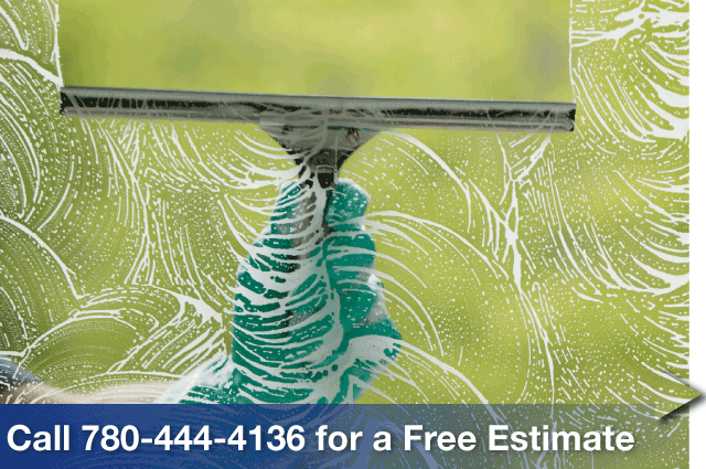 Call 780-444-4136 for a Free Estimate, squeegee