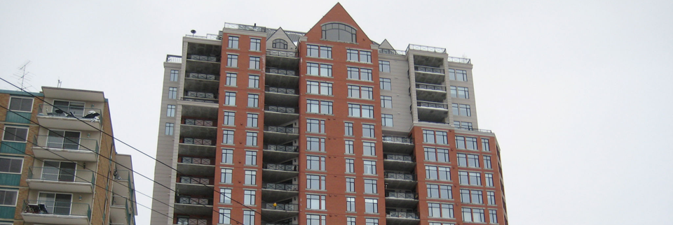 external view of apartment building